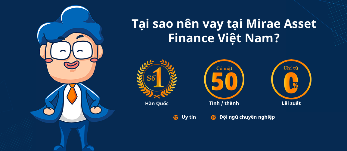 Hướng dẫn vay tiền Mirae Asset nhanh nhất