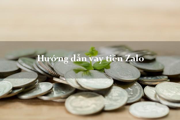 Hướng dẫn vay tiền Zalo trong ngày